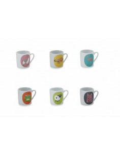Set 6 Tazas Café Stoneware...