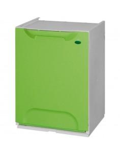 Cubo Reciclaje Verde 20...